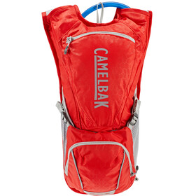 CamelBak Rogue Sistema di idratazione 2,5l, racing red/silver